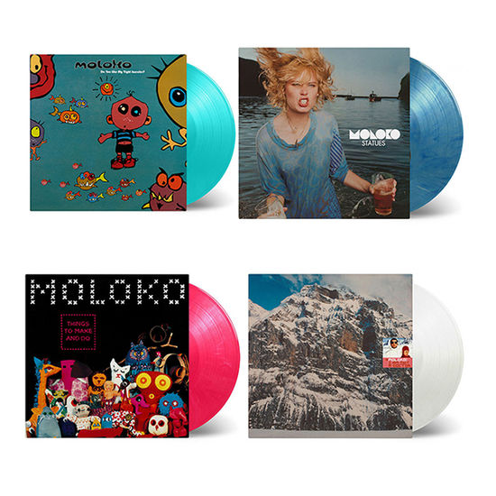 Moloko: Collectors Edition: Four Album Colour Vinyl Bundle