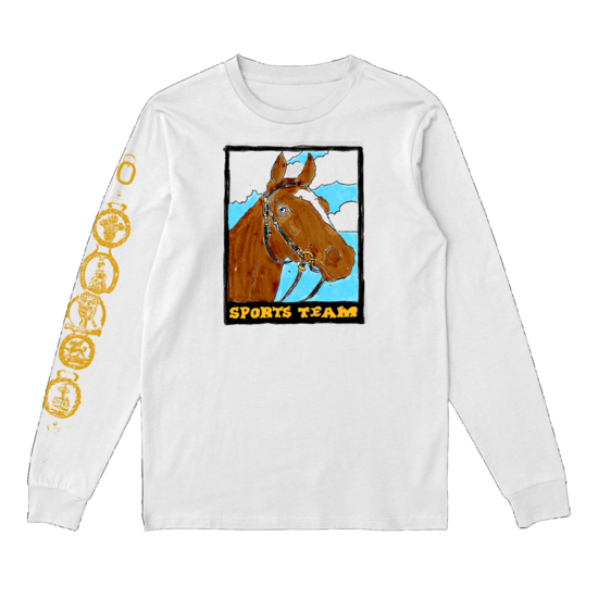 Sports Team: Nags Head Longsleeve Tee: White