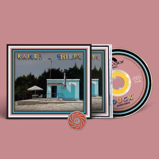 Kaiser Chiefs: KC Swirl Pin + CD
