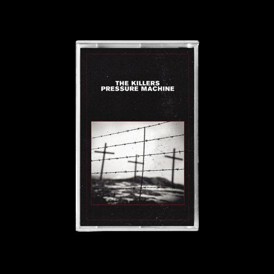 The Killers: PRESSURE MACHINE BLACK COVER CASSETTE