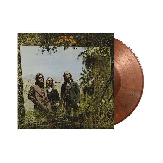 America: Hat Trick: Limited Edition Orange + Black Mixed Colour Vinyl