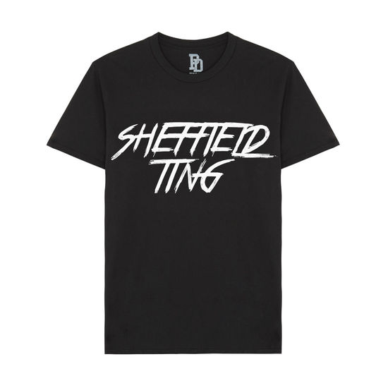 I Play Dirty: Sheffield Ting Black T-shirt