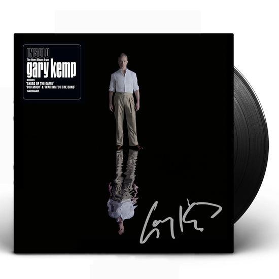 Gary Kemp: INSOLO Black Vinyl Signed