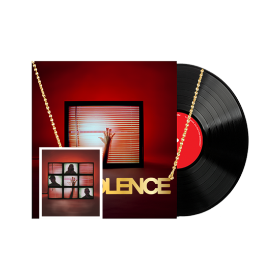 Chvrches: Screen Violence Vinyl, Necklace & signed art card