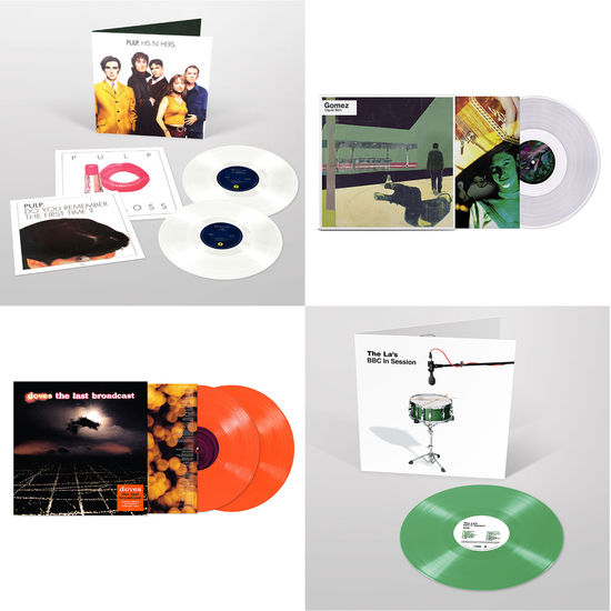 Various Artists: The Sound Of Indie Rock: Pulp, Gomez, Doves & The La's Limited Edition Colour Vinyl Bundle