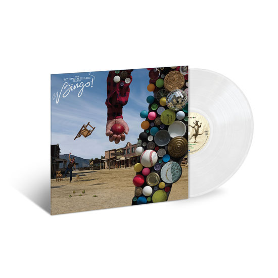 Steve Miller Band: Bingo! Exclusive Translucent Milky Clear Vinyl