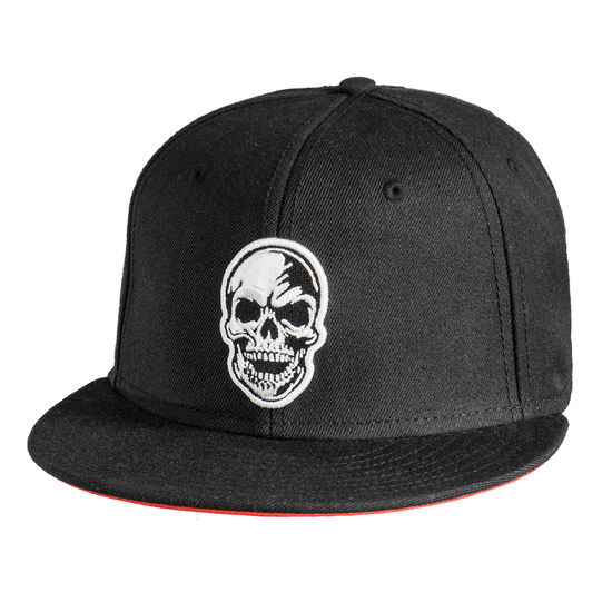 Nazar: Nazar Skull Snap Back Cap Black One Size