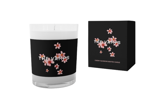 The Vamps: Cherry Blossom Candle