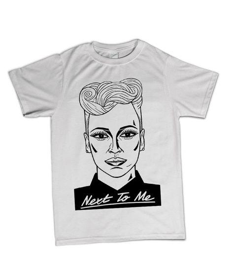 Virgin 40: Limited Edition Ted Draws Emeli Sandé T-Shirt Medium
