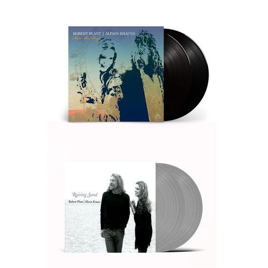 Alison Krauss & Robert Plant: Raise The Roof & Raising Sand Vinyl Bundle