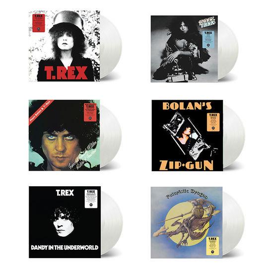 T. Rex: The Sound Of T. Rex: Six Album Clear Vinyl Exclusive Bundle