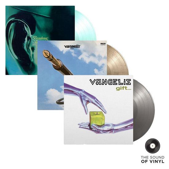 Vangelis: The Sound Of... Vangelis: Deluxe Colour Vinyl Exclusive Bundle