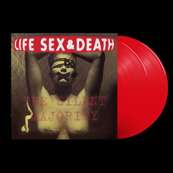 Life, Sex & Death: Silent Majority: Limited Edition Translucent Red Vinyl 2LP