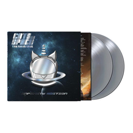 Cats In Space: Too Many Gods - Infinity Edition: Limited Edition Silver Vinyl