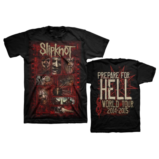 Slipknot: Sketch Boxes T-Shirt Small