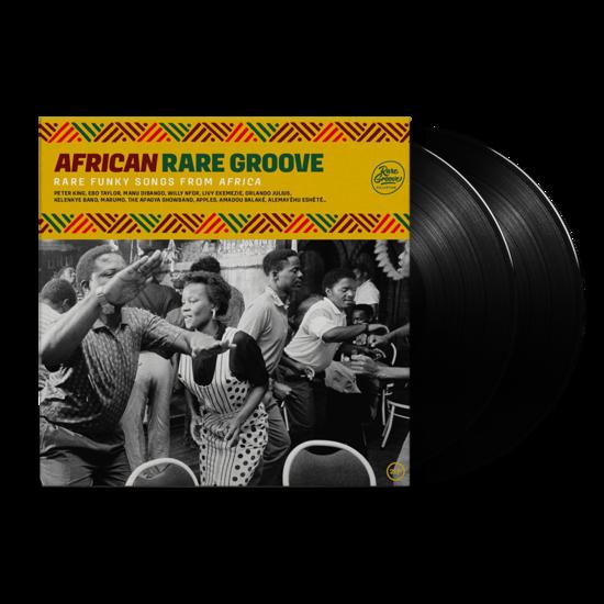Various: African Rare Groove: Black Vinyl 2LP