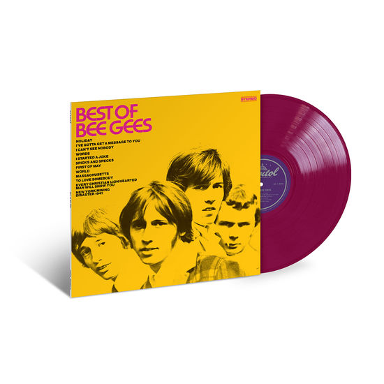 Bee Gees: Best Of Bee Gees: Exclusive Magenta Vinyl