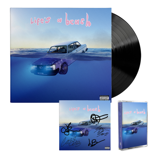 Easy Life: life's a beach: lp, cassette + signed art card