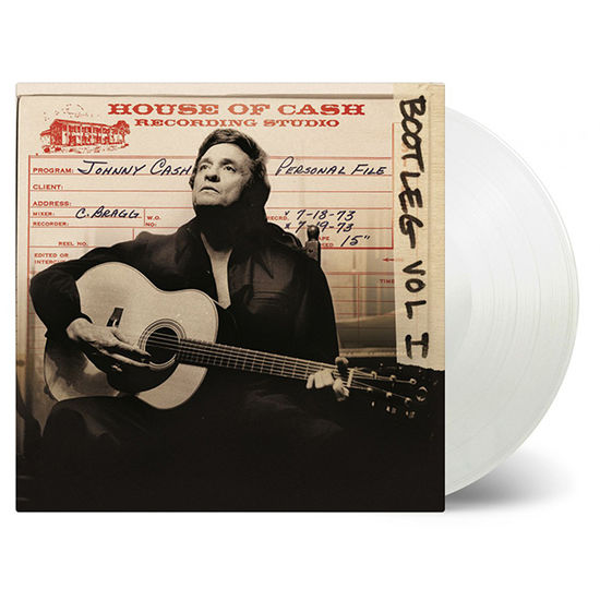 Johnny Cash: Bootleg Volume 1 Personal File: Limited Edition Transparent Vinyl