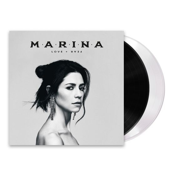 MARINA: LOVE + FEAR: Black & White Vinyl