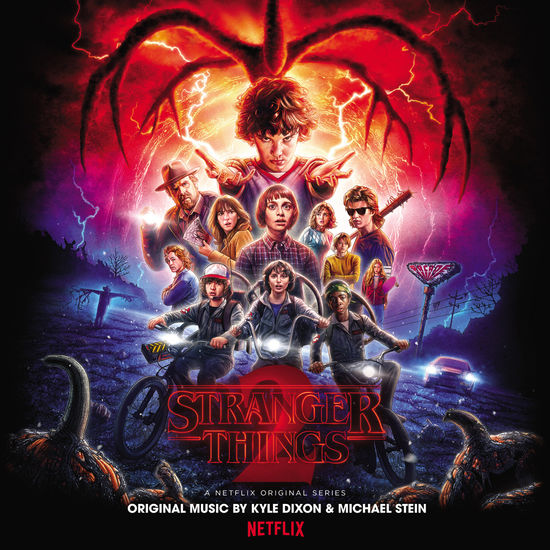 Kyle Dixon & Michael Stein: Stranger Things 2 (A Netflix Original Series Soundtrack) Clear With Splatter Vinyl