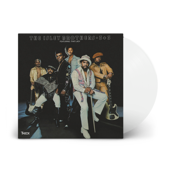 The Isley Brothers: 3 Plus 3: Limited Edition Crystal Clear Vinyl