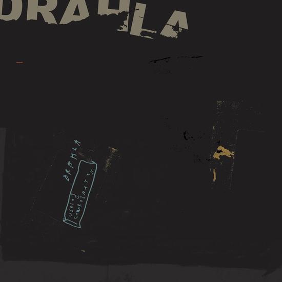 Drahla: Useless Coordinates Standard Black Vinyl
