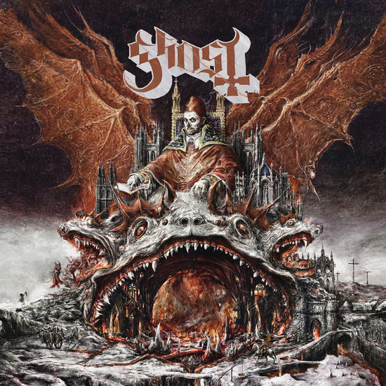 Ghost: Prequelle: Clear/Silver Swirl Ltd. Edition Vinyl