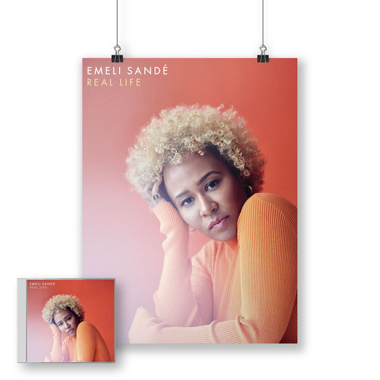 Emeli Sande: Real Life Signed CD + Print