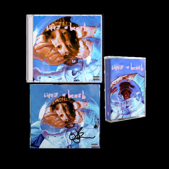 Easy Life: life's a beach: exclusive Jordan cd, cassette + signed art card