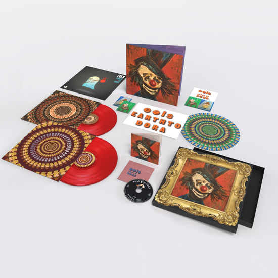 Eels: Earth To Dora: Limited Edition Translucent Red Vinyl Box Set w/ Fridge Magnets, Litho Print + Zoetrope Slipmat