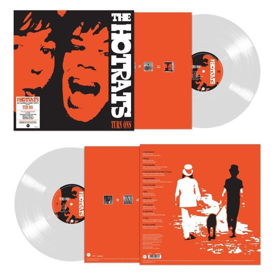 The Hot Rats: Turn Ons: Limited Edition 180g Clear Vinyl