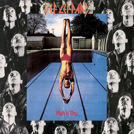 Def Leppard: High 'N' Dry: Black Vinyl