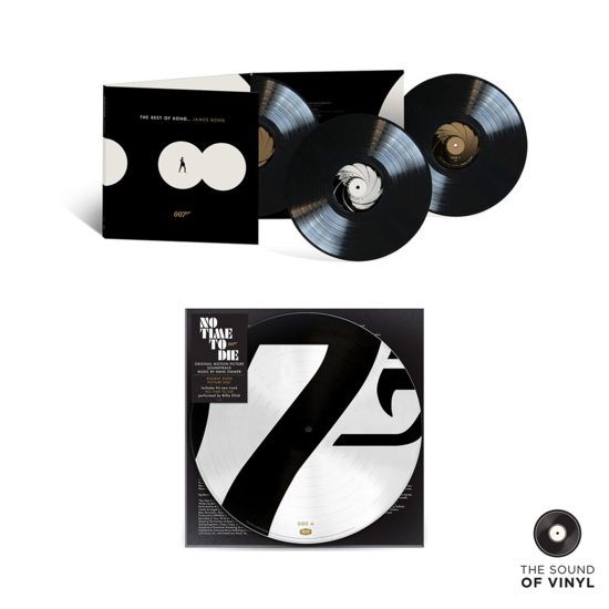 Various Artists: The Sound Of 007 Exclusive Vinyl Bundle