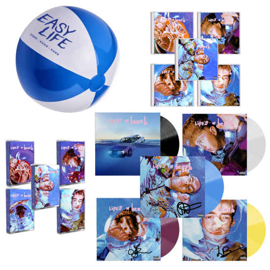 Easy Life: lifes a beach: all inclusive package with beach ball