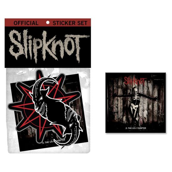 Slipknot: .5: The Gray Chapter Sticker Set
