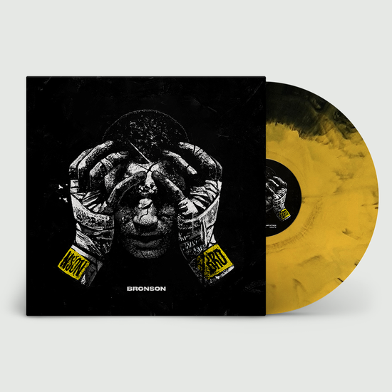 BRONSON (ODESZA, Golden Features): BRONSON: Limited Edition Gatefold Black + Yellow Vinyl