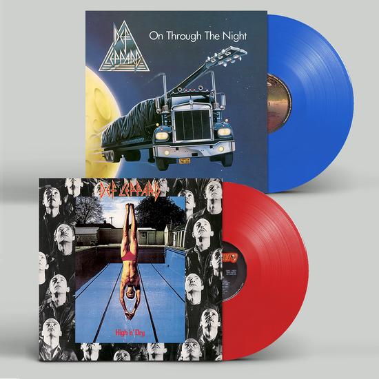 Def Leppard: Exclusive Coloured Vinyl Bundle
