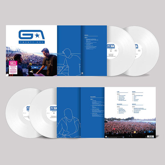 Groove Armada: Twenty One: Limited Edition White Vinyl