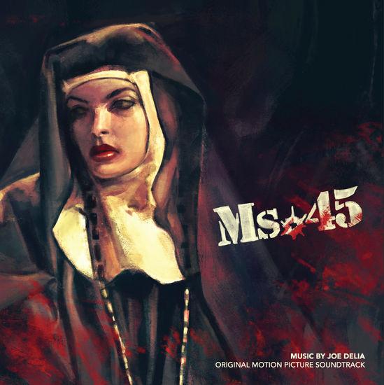 Score by Joe Delia: Ms.45: Clear Frosted Vinyl
