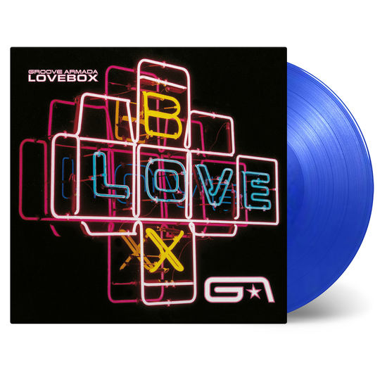 Groove Armada: Lovebox: Transparent Double Blue Numbered Vinyl