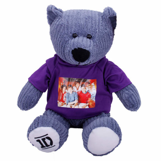 One Direction: One Direction 40cm Corduroy Bear in Hoody *Limited Stock*