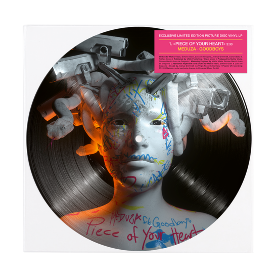 Meduza: Piece Of Your Heart/ Lose Control: Exclusive Picture Disc Vinyl