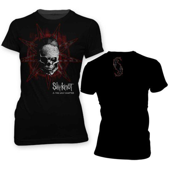 Slipknot: Star Skull Girls T-Shirt Medium