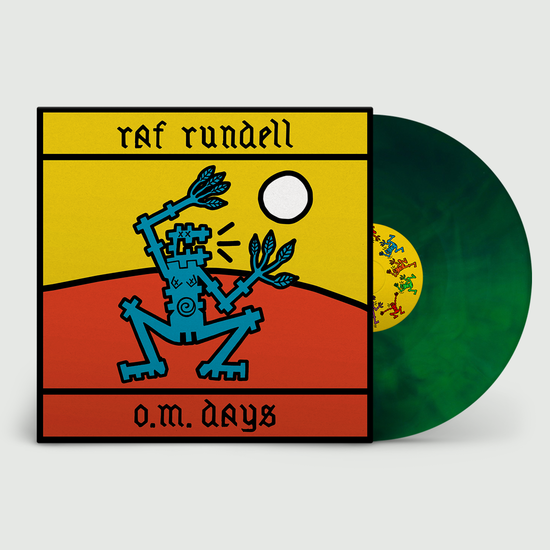 Raf Rundell: O.M. Days: Limited Edition Eco-Wax Vinyl