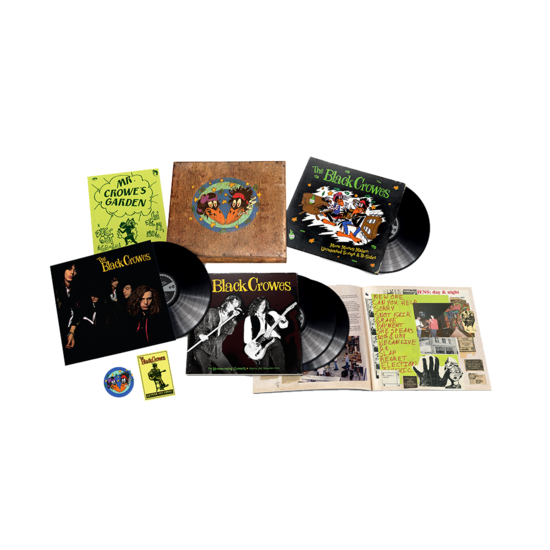 The Black Crowes: Shake Your Money Maker: Super Deluxe 4LP Box Set
