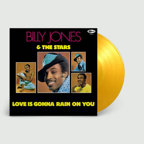 Billy Jones & The Stars: Love Is Gonna Rain On You: Limited Edition Translucent Yellow Vinyl