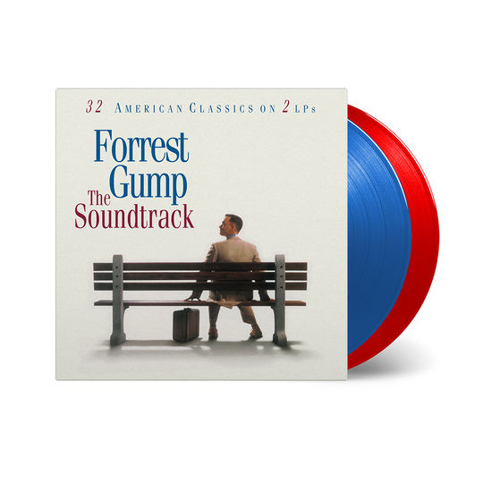 Original Soundtrack: Forrest Gump: Limited Edition Red and Blue Double Vinyl