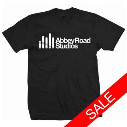 Abbey Road Studios: Abbey Road Studio Logo Black Mens T-Shirt