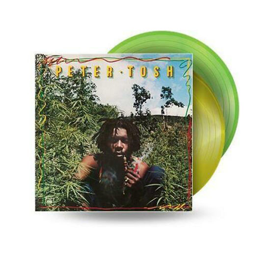 Peter Tosh: Legalize It: Limited Edition Green + Yellow Marbled Vinyl 2LP